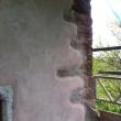 Lime render around quoins