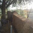 Lowering Cob Wall