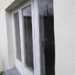 Finished lime render with limewash