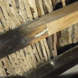 Old deteriorated laths
