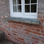 Brick repairs to external wall