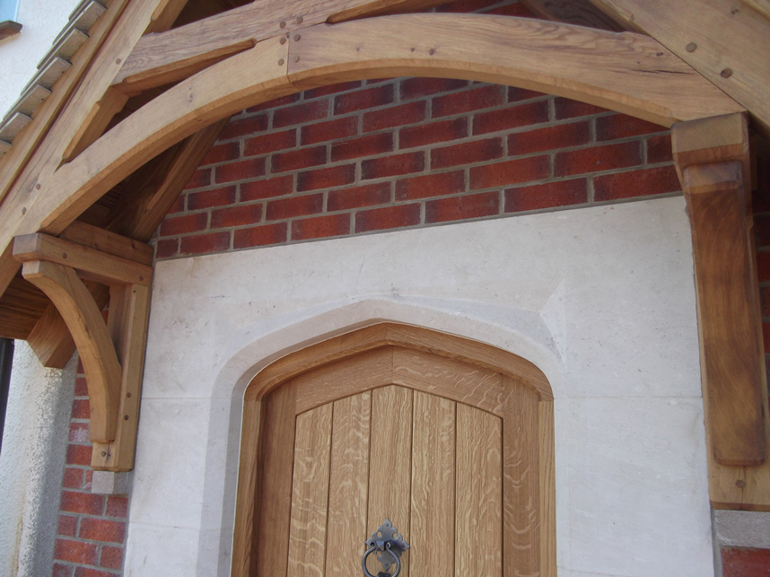 Private House, Sidmouth - Stone Door Surround