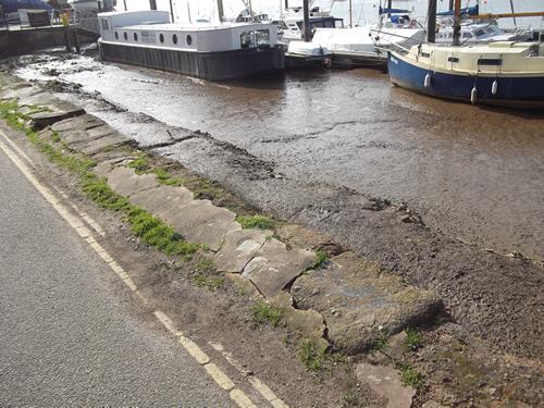 Topsham Quay Before Works